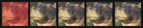 1 skeptical hippo