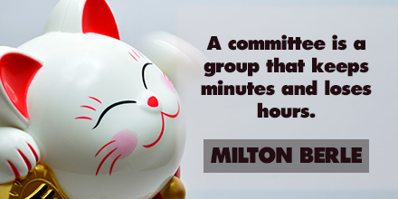 Milton Berle inspirational quote